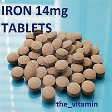 IRON 14mg  480 Tablets (Take one per day)  FREE POSTAGE   (P)