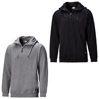 Dickies Elmwood Hoody SH11900 Mens Hooded 1/4 Zip Work Sweatshirt Jumper
