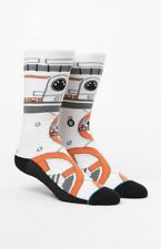 Stance X Star Wars BB-8 Thumbs Up Crew Socks Men's Size Large 9-12