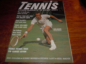 "VINTAGE "" TENNIS "" MAGAZINE - MARCH 1971"