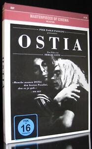 DVD OSTIA - MASTERPIECES OF CINEMA - SERGIO CITTI + PAOLO PASOLINI *** NEU ***