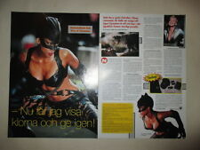 Halle Berry Catwoman Sharon Stone clippings Sweden