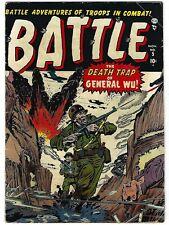 Battle #5 - Joe Maneely, Al Hartley, Norman Steinberg  art - TGL
