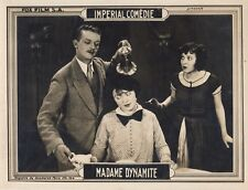 MADAME DYNAMITE1926  CINEMAT MUET, IMPERIAL COMEDIE –FOX FILMS , 3 PHOTOGRAPHIES