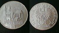 AUSTRIA / 1979 - 100 SCHILLING / SILVER COIN