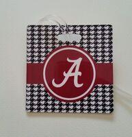 Set of 2 Alabama Crimson Tide Houndstooth Bag Tag