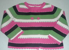 NWT Gymboree Garden Friends Stripe Sweater Girl's Size XS 3-4