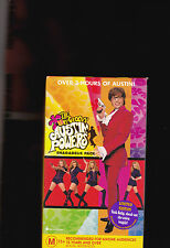 THE VERY GROOVY AUSTIN POWERS SHAGADELIC PACK - 2 X VHS VIDEOS(2 new & sealed)