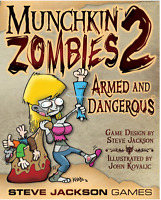 Munchkin Zombies 2: Armed And Dangerous Expansion Steve Jackson Games SJG 1482