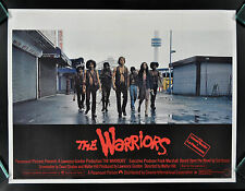 THE WARRIORS * CineMasterpieces BRITISH U.K. ORIGINAL MOVIE POSTER 1979 GANG