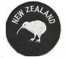 New Zealand All Blacks HAKA Kiwi Embroidered Iron on Patches