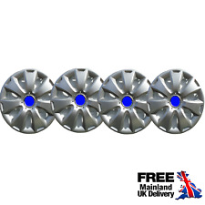 """16"""" WHEEL TRIMS FOR FORD S MAX C MAX SET OF 4 BRAND NEW HUB CAPS"""