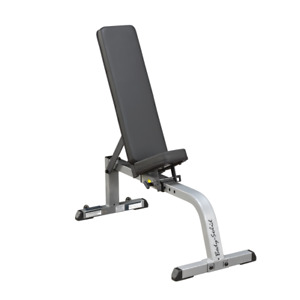 BODYSOLID FLAT TO INCLINE BENCH - 9 POSITION BENCH - HOME GYM SALE