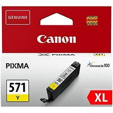 Cartucho tinta canon Cli-571y XL amarillo