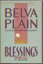 Blessings by Belva Plain (1989) Hardback w/Jacket