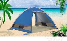 3-4 Persons POP UP 1'S Double Door Outdoor Waterproof Beach Camping Hiking Tent