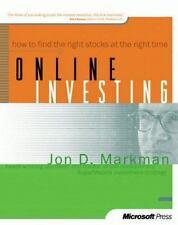Online Investing by Jon D. Markman (1999, Paperback)