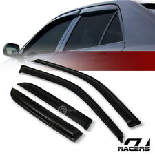 FOR 2002-2006 HONDA CRV CR-V SUN/RAIN GUARD SHADE DEFLECTOR WINDOW VISORS 4PCS