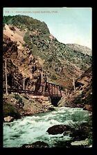 First Bridge, Ogden Canyon, Utah Old Unused Postcard #C2554