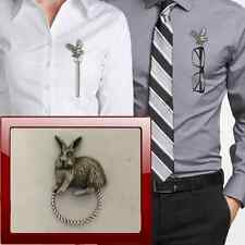 Rabbit r94 Peltro Perno SPILLA DROP Hoop titolare per occhiali, penne, gioielli