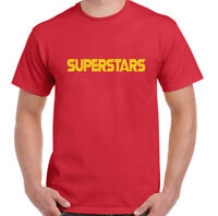 Superstars T-Shirt Mens Retro TV Show Series Sports Competition Unisex Top