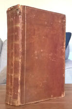 1836 The Holy Bible Andrus and Judd 1836 Hartford CT religion leather christian
