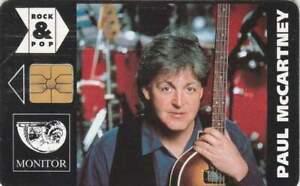 Telefoonkaart / Phonecard gebruikt Tjechië - Paul McCartney (144)