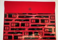CHANEL VIP GIFT RED MAKEUP BAG/ENVELOPE NEW RARE