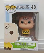 Funko Pop Vinyl Figure #48 - Charlie Brown w/ Box Protector - Peanuts Collection