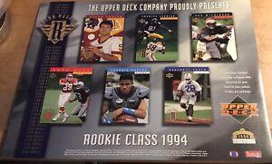 1994 Upper Deck LE Star Rookie Promo Sheet