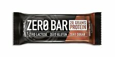 Biotech Zero Bar 10x 50g zuckerfrei Protein Eiweiss Riegel Low Carb (33,62�'�/Kg )