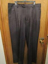 MENS CINTAS BLACK PLEATED DRESS PANTS SIZE 38X29