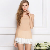 Fashion Women Lady Summer Sleeveless Vest Tops Loose Casual Chiffon Blouse New