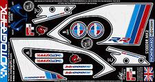BMW S1000RR 2015 Front Fairing Motorcycle Number Board Motografix Gel Protector