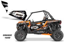 AMR Racing Graphic Wrap Kit Polaris RZR 1000 UTV OEM Door Insert Universal ORNGE