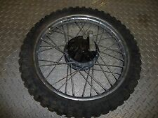 Yamaha DT50 DT 50 Front Wheel (17x1.4) with Brake Assembly and Axle #T38