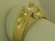 1 Ct Men's Solitaire Ring Mounting 14K Solid Yellow Gold For 1Carat Diamond
