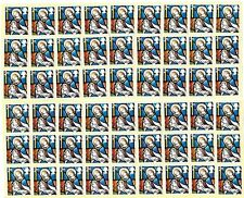 GB 100+ 2nd CLASS STAMPS £66 FACE VALUE UNFRANKED OFF PAPER WITH GUM