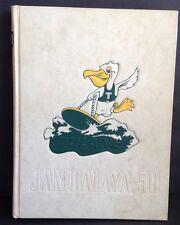 School Yearbook 1950 Jambalaya Tulane University New Orleans LA Book Annual pics