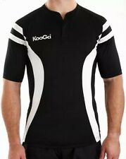Kooga mens pro tech tight fit rugby shirt Size XL Black