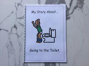 PECS/Boardmaker Toilet Training Social Story for Autism/ASD/SEN/ADHD/Aspergers