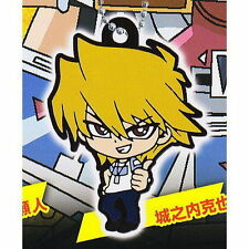 SK Japan Yu-Gi-Oh! Duel Monsters Rubber Key chain Figure Jounouchi Katsuya