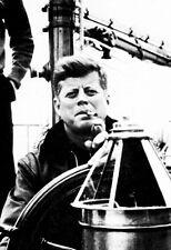 John F. Kennedy Poster, Smoking Cigar, Sailing, JFK