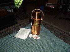 Vintage ODT OLD DUTCH DESIGN Copper Brass MATCH HOLDER W/ Paper Swag Taiwan