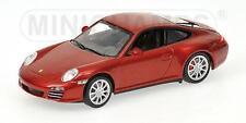 Minichamps Porsche 911 Carrera 4S 2008 rot metallic 1:43 (400066422)
