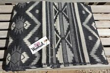 "Woolrich Somerton Blanket Poncho 50""x70"" Heavyweight Warm Charcoal NWT"