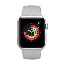 Apple Watch 3 GPS 38mm Silver Alu Case Fog Sport Band