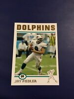 2004 Topps Collection Gold # 233 JAY FIEDLER Miami Dolphins Sharp !