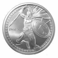 Spartan Warrior 1oz .999 Silver Round - Warrior Series - Golden State Mint