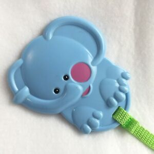 Elephant Teether Fisher Price Safari Jumperoo Toy Replacement Blue